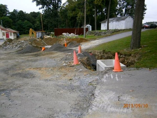 Phases of Creating Stormwater System