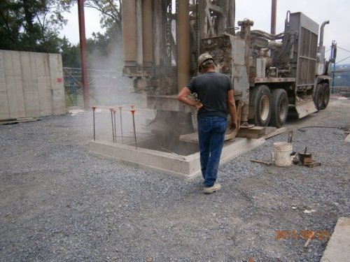 The Drilling For Elevator Casing